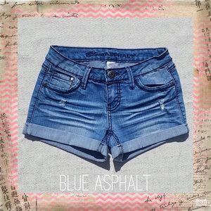Denim shorts size 1